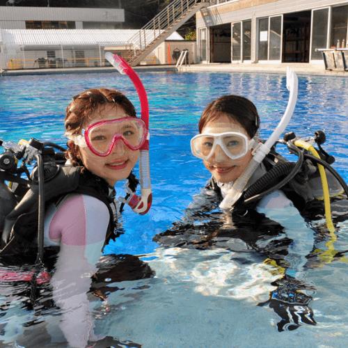 まずはお手軽!体験ダイビング!