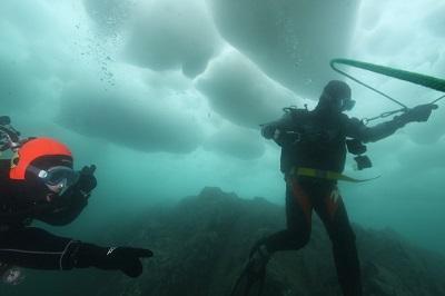 アイス(流氷)・ダイバー・スペシャルティ・コース