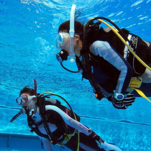 体験ダイビング 海コース